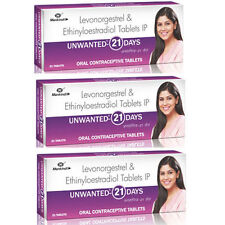 Unwanted 21 The Regular Oral Contraceptive (Set of 3)