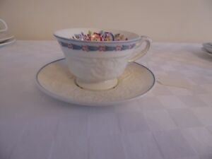 Mismatched Wedgewood Cup and Saucer