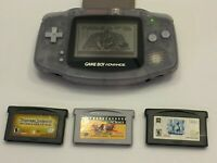 GameBoy Advance - console & 4 Games (ONLY CARTRIDGES)