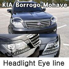 [Kspeed] (Fits: KIA 08-11 Borrego Mohave) Ixion Front Headlight Eye line Painted