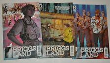 BRIGG'S LAND 1 2 5 (Dark Horse Comics) 3 book Lot 2016 AMC TV SHOW coming!