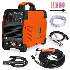 TIG200A TIG Welder Stick 200A 110V 220V DC Inverter IGBT TIG Welding Machine