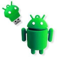 8GB Robot dulce dibujos animados Android USB 2.0 palillo de Mmemoria dispositiv3