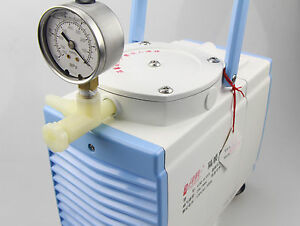Oil Free Diaphragm Vacuum Pump 20L/m Pressure adjustable 160W 1* head GM-0.33A