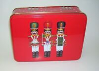 Nutcracker Soldiers Tin Box