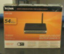 D-Link WBR-1310 54 Mbps 4-Port 10/100 Wireless G Router