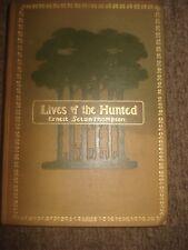 Lives Of The Hunted - Ernest Seton-Thompson - 1901 First Impression/Edition UK
