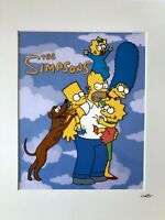 The Simpsons - Family - Hand Drawn & Hand Painted Cel