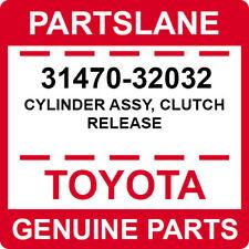 31470-32032 Toyota OEM Genuine CYLINDER ASSY, CLUTCH RELEASE