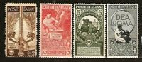 ITALY Sc 119 to 122 MINT NH VF   See DESCRIPTION SCAN
