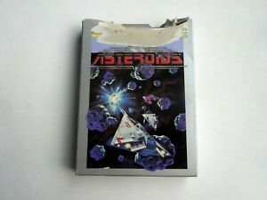 Atari 7800 Asteroids Complete w/ *Damaged Box* & Manual Tested & Working
