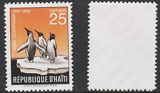 Haiti (1429) 1958 Penguin with wrong value -  a Maryland FORGERY unused