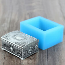 Jewelry Box Silicone Molds Soap Making DIY Chocolate Resin Craft Clay Mould