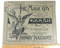Antique 1894 Chicago Worlds Fair Magic City Fine Art Series Vol 1 #16