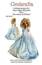 "KW18027 Cinderella pattern for 18"" Kaye Wiggs Layla  MSD"