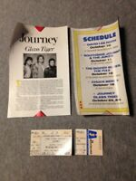 1986 JOURNEY GLASS TIGER CONCERT TICKETS LOT 5 MEADOWLANDS ARENA NJ STEVE PERRY