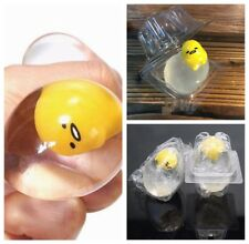 Clear Kawaii Lazy Egg Vent Toy Gifts Japaness Sanrio Gudetama Limp Pinch Mascot