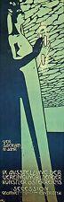 SECESSION, 1890 Art Nouveau Poster Vintage Reproduction Canvas Print 13x40