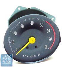 1966-67 Pontiac GTO OE Factory RPM Tach Tachometer With Rally Gauges