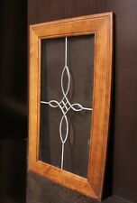 "Kraftmaid Kitchen Sunset Cherry  Glass Door 4 Wall Cabinet 18""x30"""