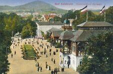AK, Foto, Bad Salzbrunn - Elisenhalle mit Hochwald, 1920; 5026-44