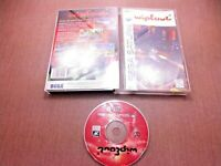 Sega Saturn CIB Complete Tested Wipeout Long Box Ships Fast Crack Free Case