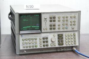 AGILENT HP 8566B SPECTRUM ANALYZER 100Hz to 22GHz # N50