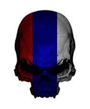 Russian Skull Decal - Russia Flag Soviet Union Sticker Graphic