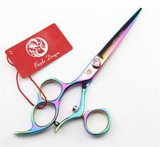 "Professional Swivel Thumb Barber Hair Cutting Scissors Left Hand Salon Shears 6"""