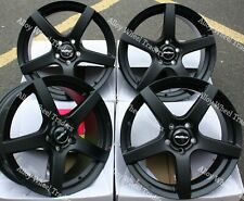 "ALLOY WHEELS X 4 16"" BLACK PACE FOR 5X108 CITROEN C4 C5 GRAND TOURER DISPATCH"