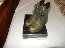 Vintage Men's Browning Army Green Insulated Hunting Boots 8.5 W/ Box  USA