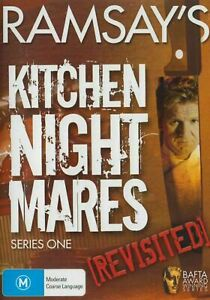 Ramsay's Kitchen Nightmares - Revisited - Series 1 - DVD vgc t212