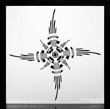 "Mocking Jay Bullseye. Multi-purpose / Multi-Use Airbrush Stencil. 11""x 11"""