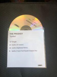 The Prodigy - Spitfire - 3 Track CD Promo