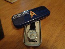 Star Trek U.S.S.Enterprise NCC-1701 collectible watch with tin