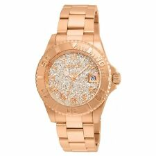 Invicta 22708 Lady's Rose Gold Dial Rose Gold Steel Dive Watch