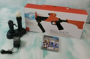 🔥Sony PlayStation Move Controller W/ Navigation, Dock, 2games, and Skill Shot🔥