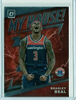 BRADLEY BEAL Wizards 2019-2020 NBA Donruss OPTIC MY HOUSE INSERT #14