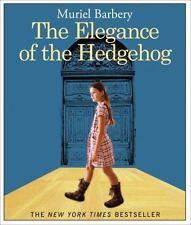 The Elegance of the Hedgehog by Muriel Barbery (2009, CD, Unabridged) Audio Book