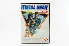 Rare KONAMI METAL GEAR 1 MSX Japanese version (mn23)