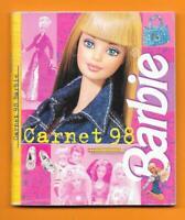 Carnet Barbie 1998 - Agenda - Publicité club - 68 pages - 12 x 10 cm