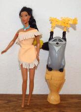 Pocahontas Disney Princess hair braid Meko figure toy playset braided beauty