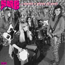 SHE Wants A Piece Of You 180g pink vinyl LP NEW garage punk psych Hairem