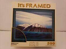 "It's Framed Puzzle ""Iceberg"" 500 Piece Jigsaw Puzzle Frame Kit 22"" x 17"""