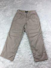 Mountain Khakis Mens 31x30 Original Mountain Lodge Tan Twill Pants