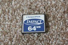 64mb IMPACT COMPACT FLASH CF MEMORY CARD 64 Mb