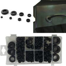 180Pcs 8 Sizes Car Rubber Grommet Hole Plug Set Electrical Wire Gasket Tool Kit