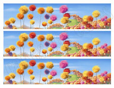 The Lorax Truffula trees edible cake strips cake topper decorations