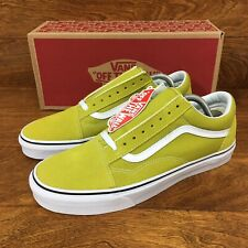 fca7c61918  NEW  Vans Authentic Old Skool (Men Size 8) Cress Green White Skate