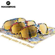 Óculos De Sol Polarizado ROCKBROS Bicicleta Para Esportes Ao Ar Livre Óculos Ciclismo Bicicleta Novo